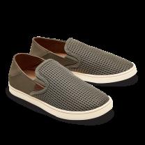 OluKai Women's Pehuea Slip-On Mesh Sneakers Clay/Clay - 20271-1010