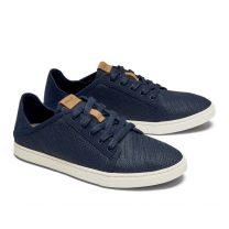 OluKai Women's Pehuea Li Sneakers Trench Blue/Trench Blue - 20379-DEDE