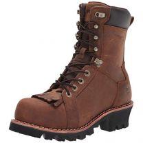 "WOLVERINE Men's Logger CarbonMax 8"" Boot Construction"