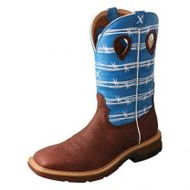 """Twisted X Western Boot Cowboy Men 12"""" Work Boot"""