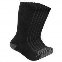 Timberland PRO mens 6-pack Performance Crew Length Socks
