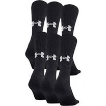 Under Armour Training Cotton Crew Sock - 6-Pack