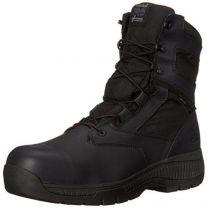 """Timberland PRO Men's 8"""" Valor Composite-Toe Waterproof Side-Zip Work Boot"""