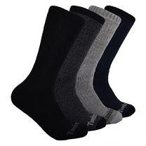 Timberland mens 4-pack Crew Socks