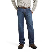 Ariat Flame Resistant M4 Low Rise Basic Boot Cut Jean - Men?s Durable Work Jeans