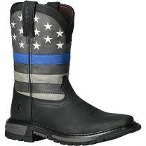 Rocky Blue Line Big Kid Western Boot