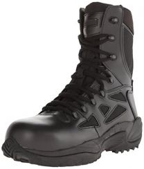 """Reebok Men's Stealth 8"""" Lace-Up Side-Zip Work Boot Composite Toe - Rb8874"""