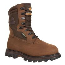 Rocky FQ0009456 BRN/GCHO 1400G Medium 8 Hunting Shoes Brown