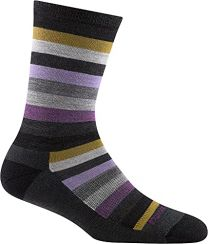 Darn Tough Women's Phat Witch Crew Lightweight with Cushion Sock Gray - 1644-GRAY