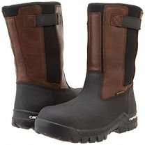 "Carhartt Men's 10"" Wellington Waterproof Leather Pull On Boot"
