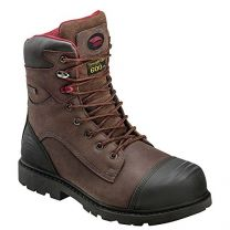 "Avenger Safety Footwear Mens 7573 8"" Insulatd Wtrproof Carbon Toe Work Boot"