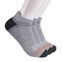 Timberland PRO Men's TB219986TD Coolmax Poly/Cotton Blend Low Cut Socks 3-Pack