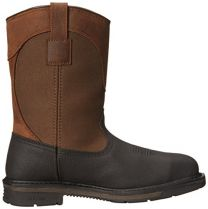 """Carhartt Men's 11"""" Wellington Square Safety Toe Leather Work Boot CMP1258"""