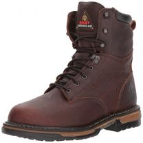 "Rocky FQ0005693 8"" IronClad Bridle MEDIUM 8 Work Boots"