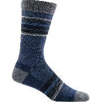 Darn Tough Men's Whetstone Crew Lightweight Sock Denim  - 6009-DENIM